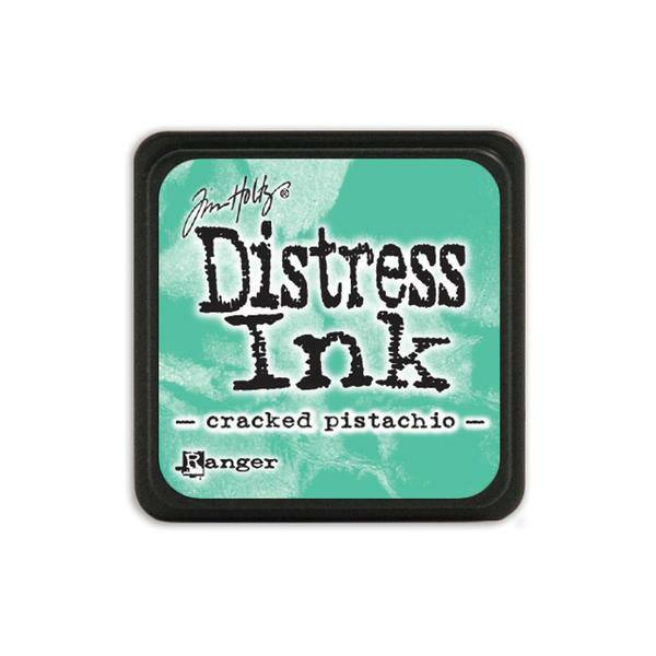 Ranger - Tim Holtz - Mini Distress Ink Pad - Cracked Pistachio