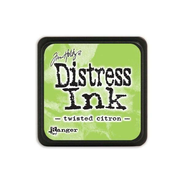 Ranger - Tim Holtz - Mini Distress Ink Pad - Twisted Citron