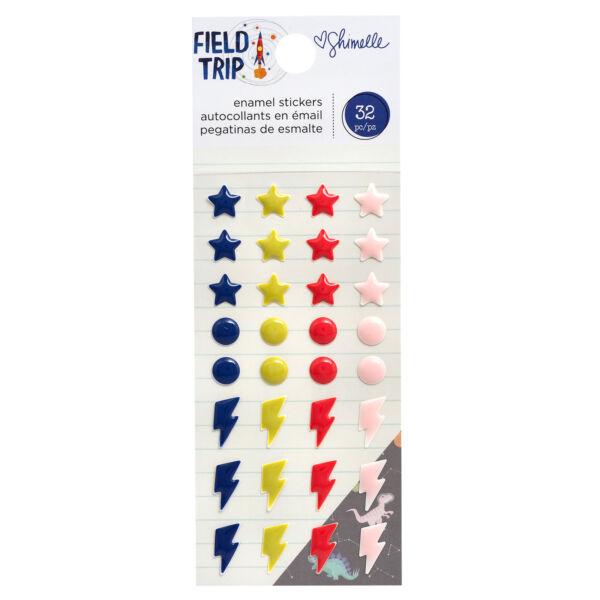 American Crafts - Shimelle - Field Trip enamel pötty (32 db)