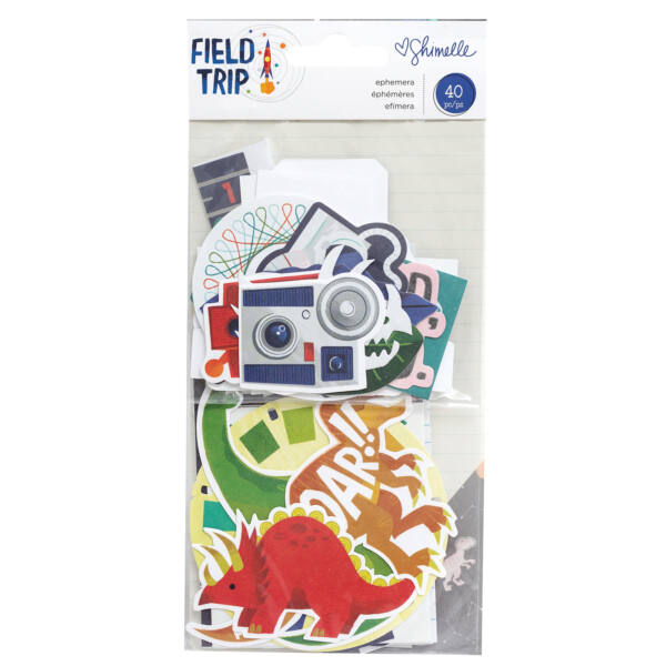 American Crafts - Shimelle - Field Trip Ephemera (40 Piece)