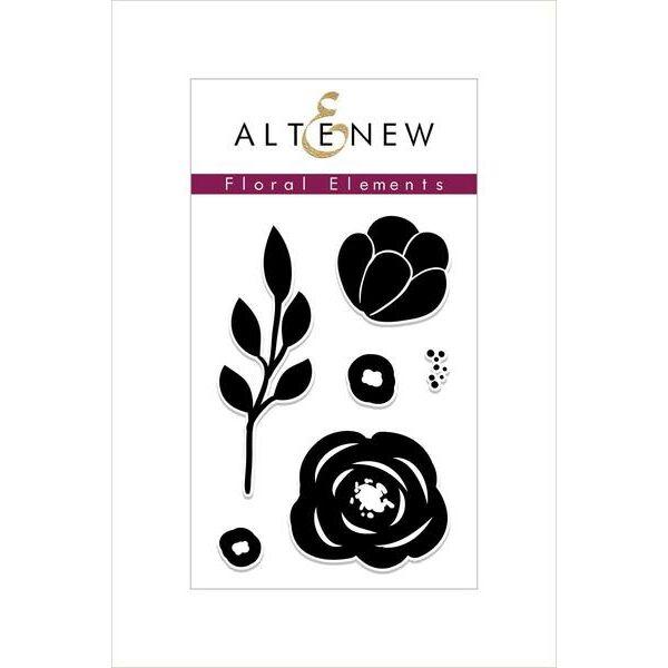 Altenew Floral Elements Stamp Set