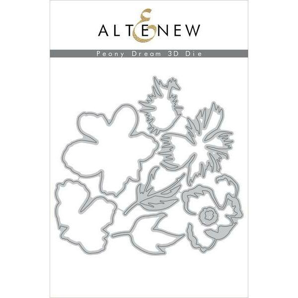 Altenew - Peony Dream 3D Die Set