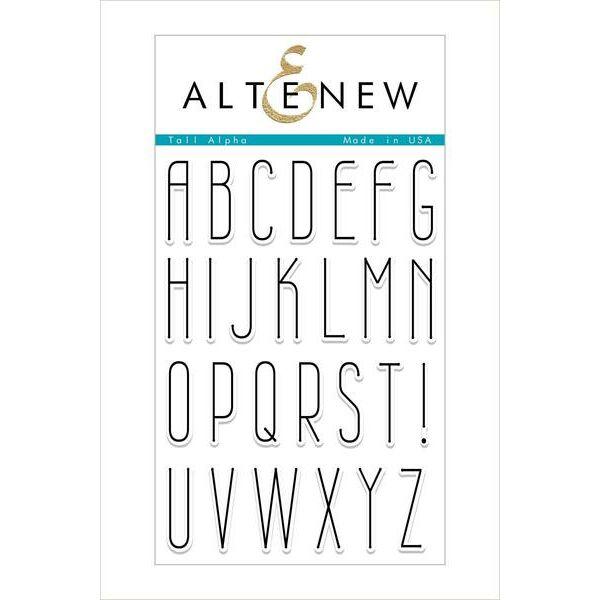 Altenew bélyegző - Tall Alpha