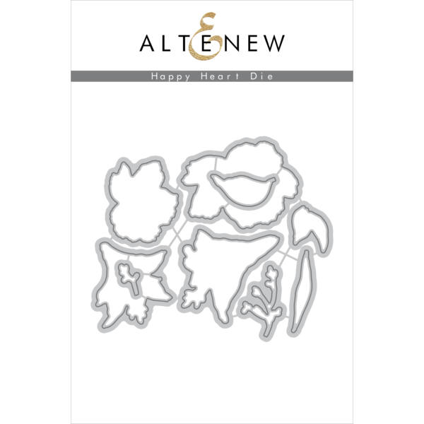 Altenew Happy Heart Die Set