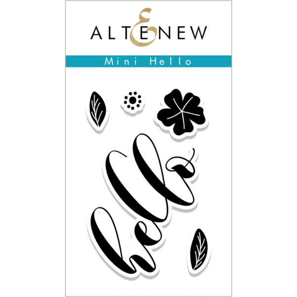 Altenew Mini Hello Stamp Set