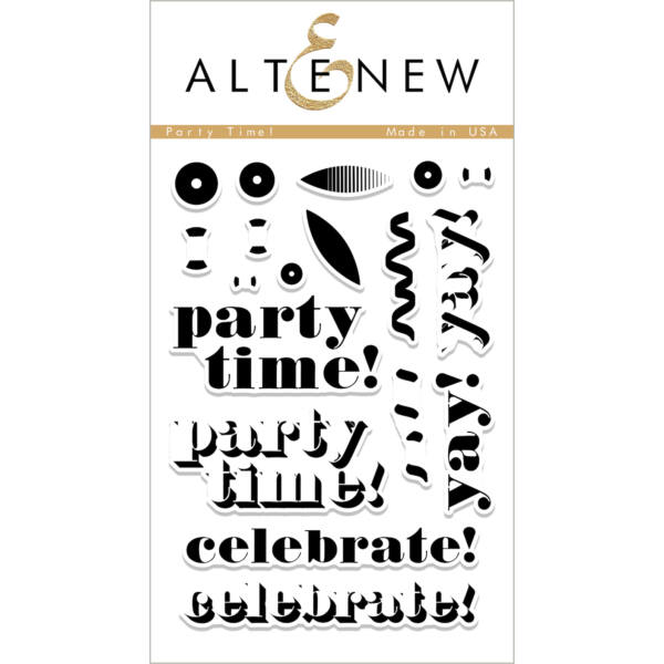 Altenew Party Time! Stamp Set