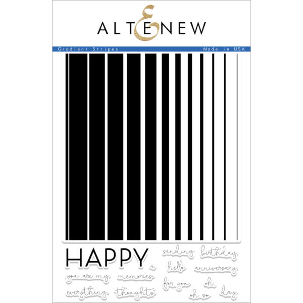 Altenew Gradient Stripes Stamp Set