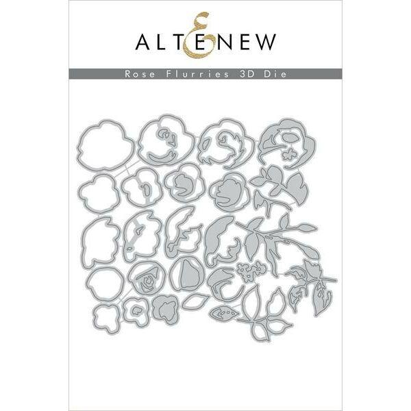 Altenew - Rose Flurries 3D Die Set
