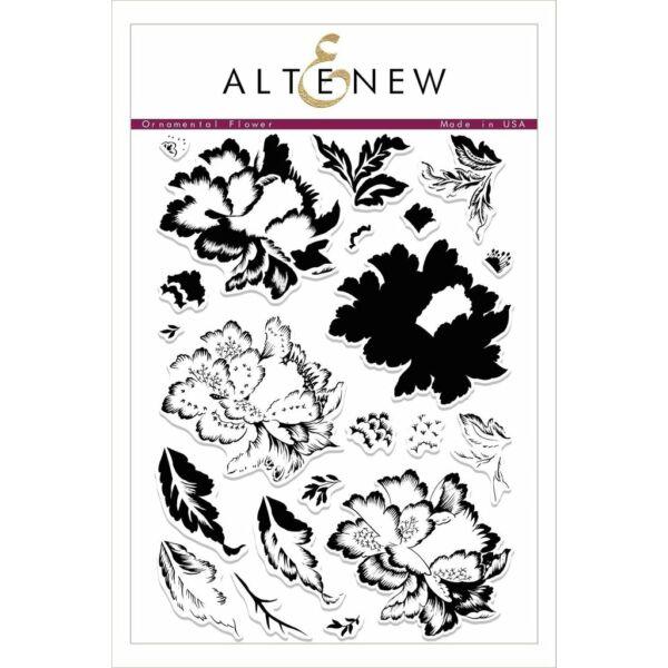 Altenew Ornamental Flower Stamp Set