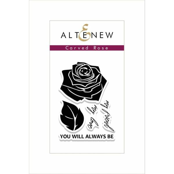 Altenew Carved Rose Stamp Set