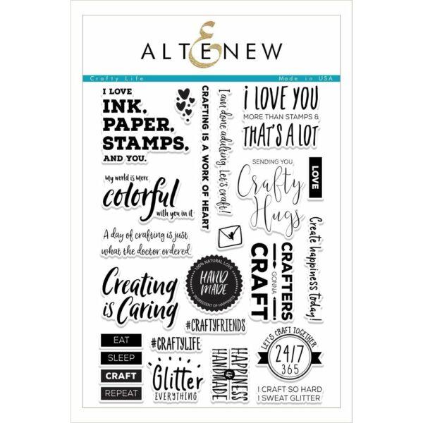 Altenew Crafty Life Stamp Set