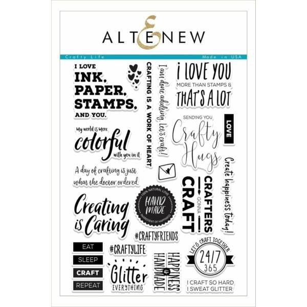 Altenew Crafty Life Stamp Set