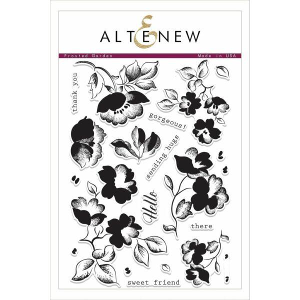 Altenew Frosted Garden Stamp Set