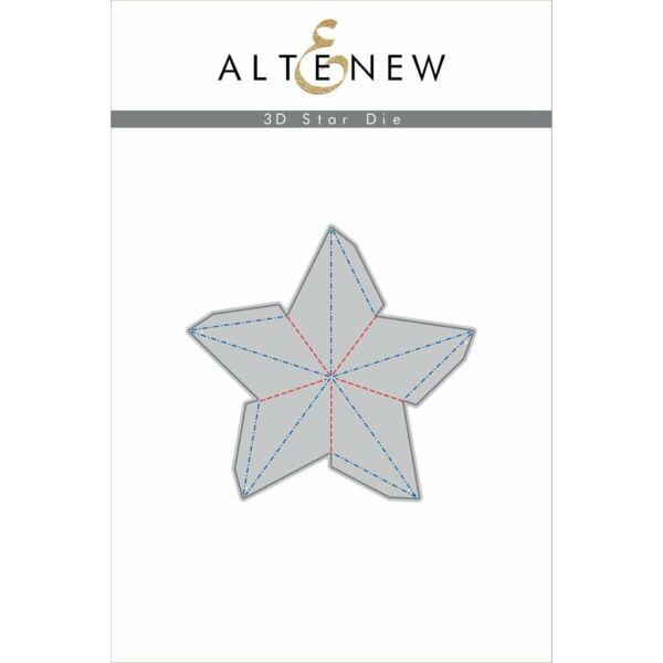 Altenew Die - 3D Star
