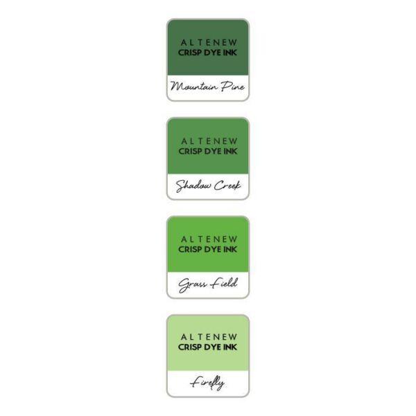 Altenew Mini Ink Cube Set - Green Valley