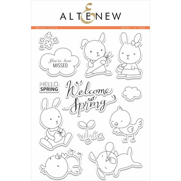 Altenew Bunny Love Stamp Set