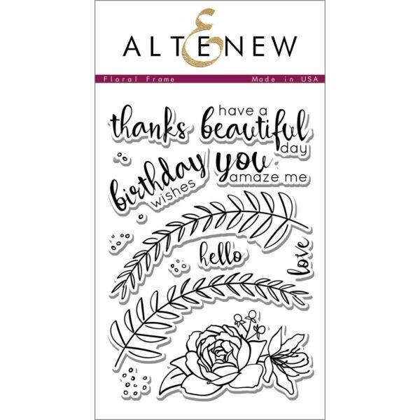 Altenew Floral Frame Stamp Set
