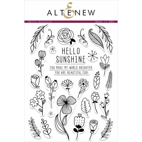 Altenew Hello Sunshine Stamp Set