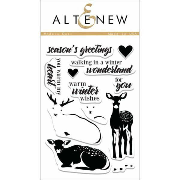 Altenew Modern Deer Stamp Set