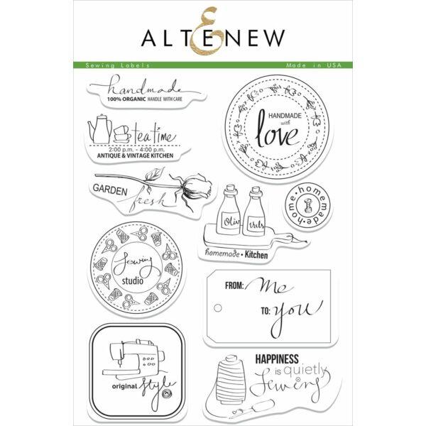 Altenew Sewing Labels Stamp Set
