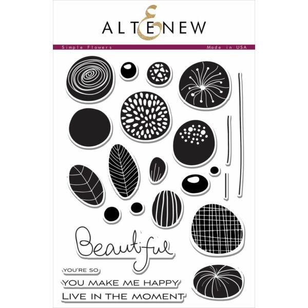 Altenew Simple Flowers Stamp Set