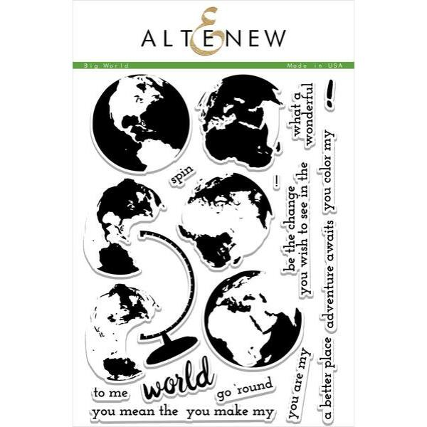 Altenew Big World Stamp Set