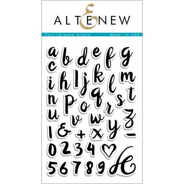 Altenew Calligraphy Alpha Stamp Set