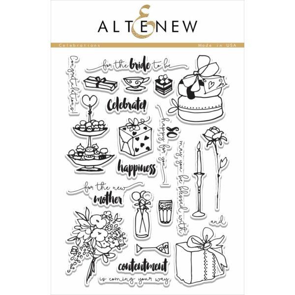 Altenew Celebrations Stamp Set