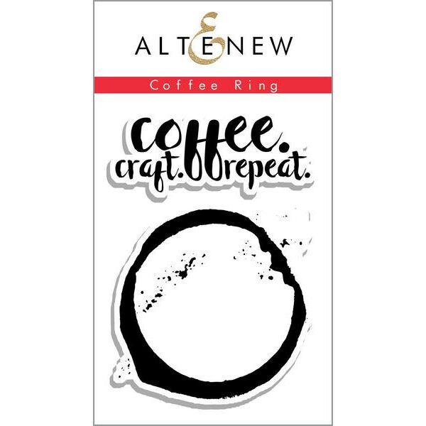Altenew Coffee Ring Stamp Set