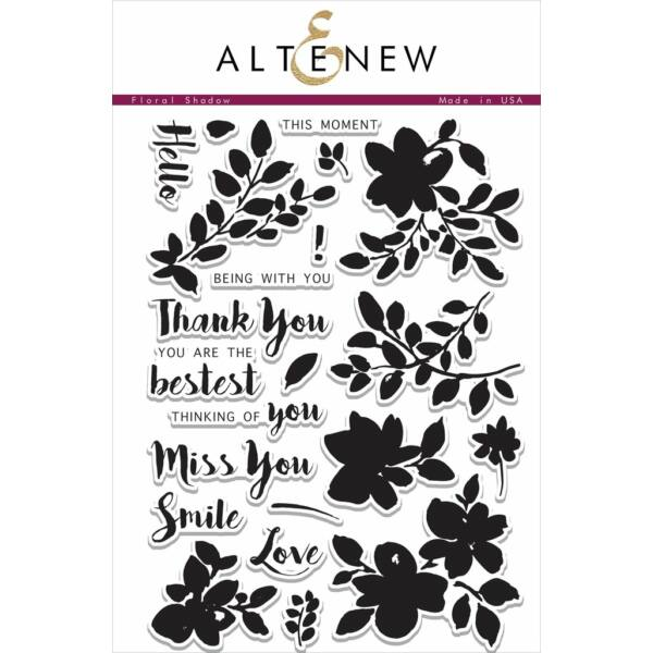 Altenew Floral Shadow Stamp Set