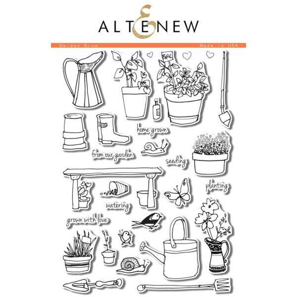 Altenew Garden Grow Stamp Set