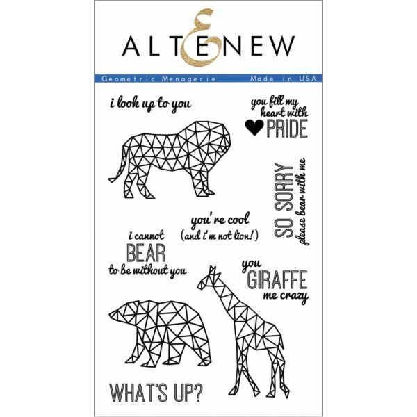 Altenew Geometric Menagerie Stamp Set