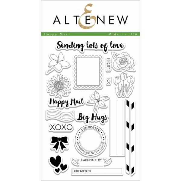 Altenew Happy Mail Stamp Set