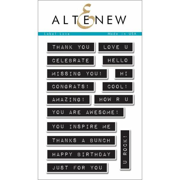 Altenew Label Love Stamp Set