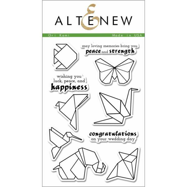 Altenew Ori Kami Stamp Set