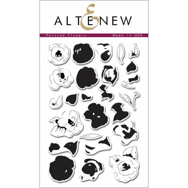 Altenew Painted Flowers Stamp Set