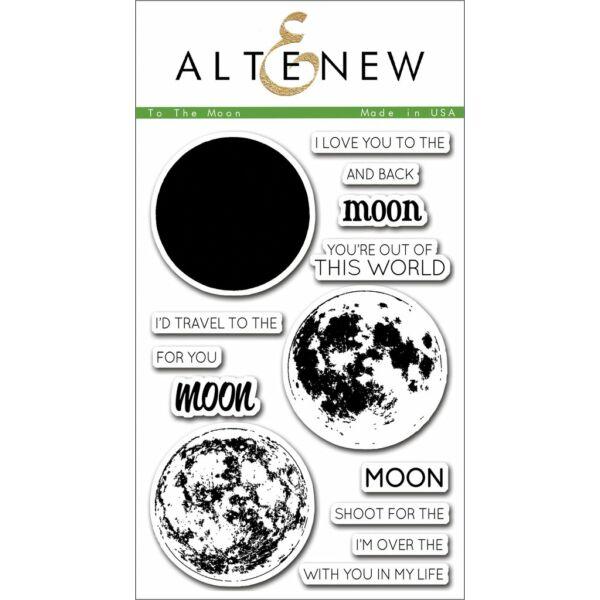 Altenew To the Moon Stamp Set