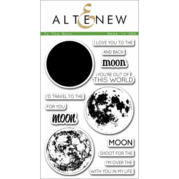 Altenew To the Moon Stamp Set