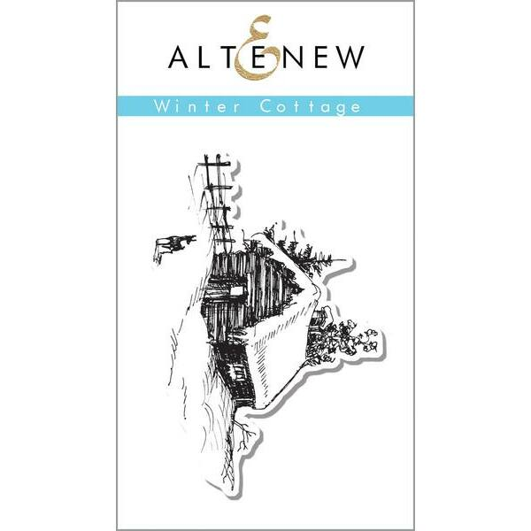 Altenew Winter Cottage Stamp Set