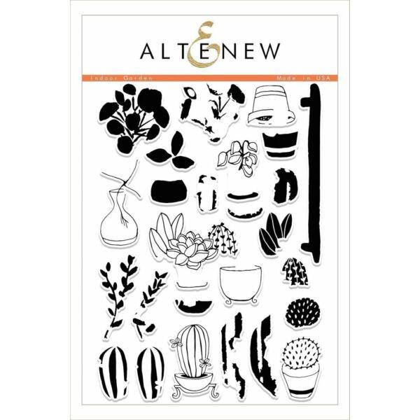 Altenew Indoor Garden Stamp Set