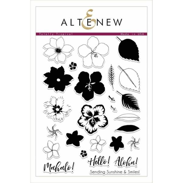 Altenew Totally Tropical Stamp Set