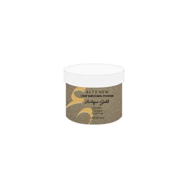 Altenew Crisp Embossing Powder - Antique Gold