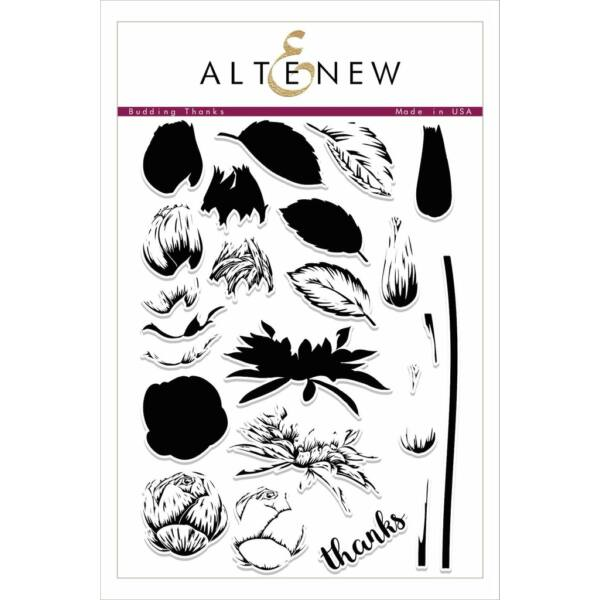Altenew Budding Thanks Stamp Set
