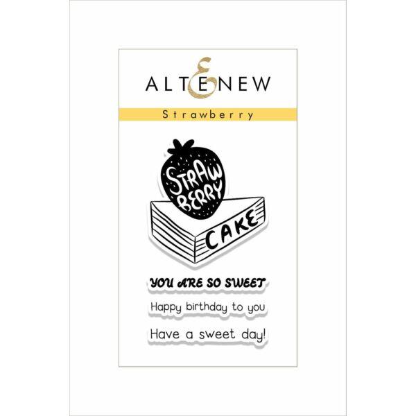 Altenew Strawberry Stamp Set