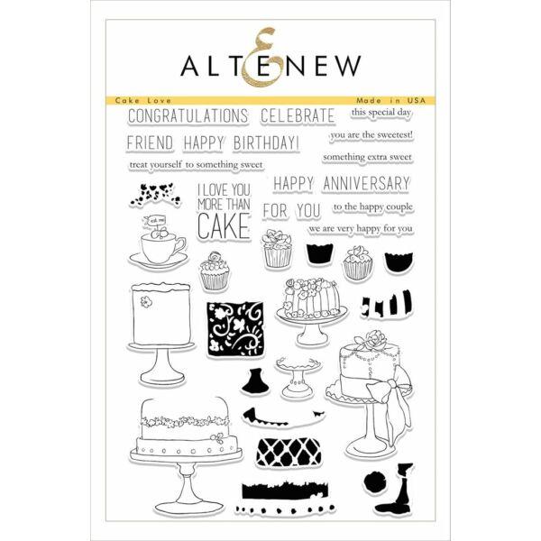 Altenew Cake Love Stamp Set