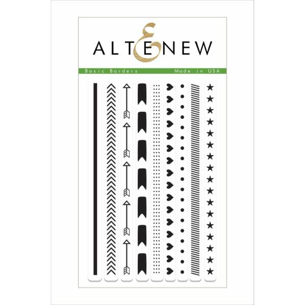 Altenew Basic Borders Stamp Set