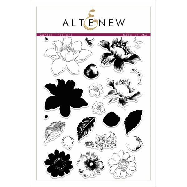 Altenew Garden Treasure Stamp Set