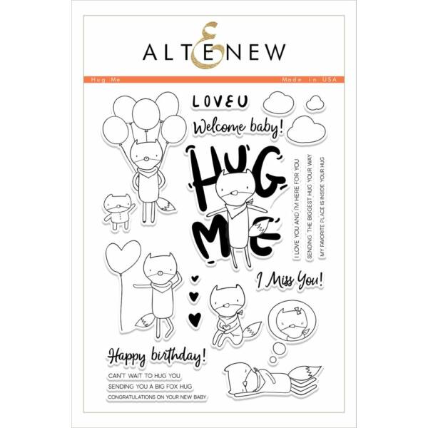 Altenew Hug Me Stamp Set
