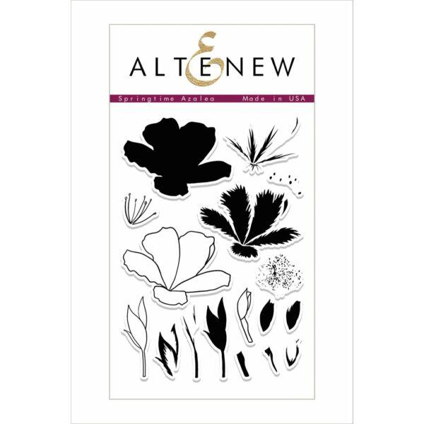 Altenew Springtime Azalea Stamp Set