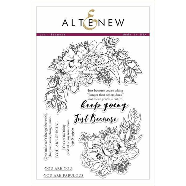 Altenew Just Because Stamp Set